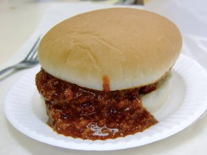 Chili on a burger.  Whoever made this should be President of the food community.